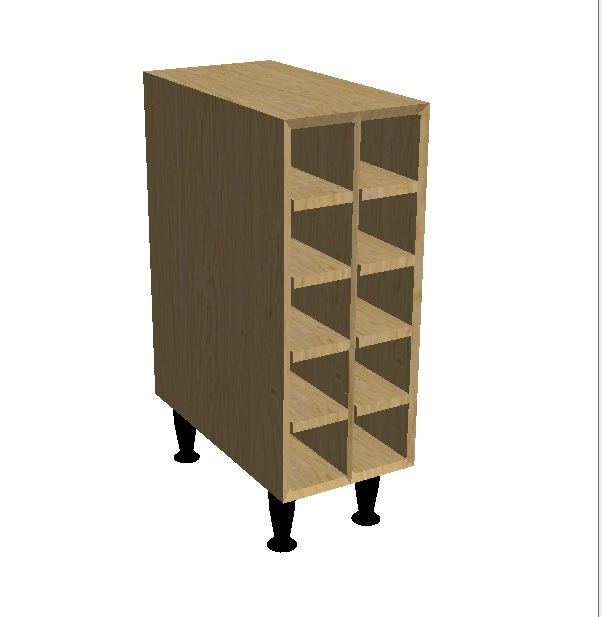 Wine Rack Base Unit (2)