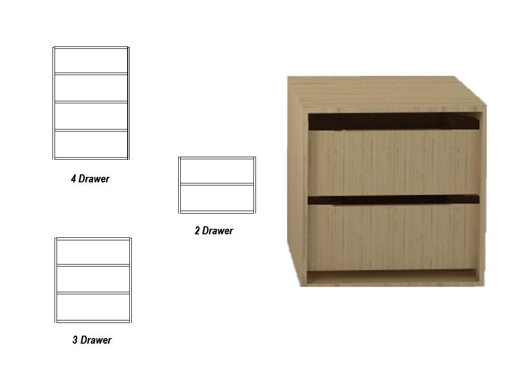 Wardrobe Internal Drawer Packs